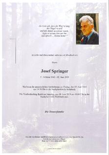 Josef Springer