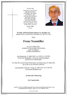Franz Neumüller