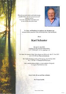 Karl Schuster