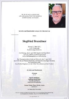 Siegfried Brandtner