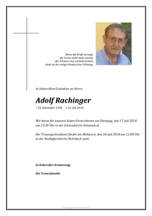 Adolf Rachinger