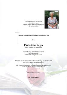 Paula Gierlinger