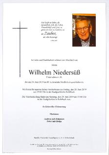 Wilhelm Niedersuess