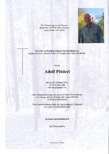 Adolf Plöderl