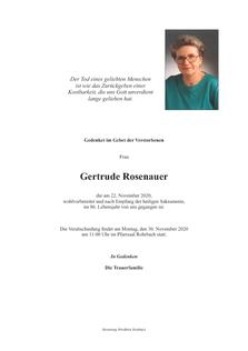 Gertrude Rosenauer