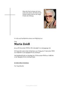 Maria Zoidl