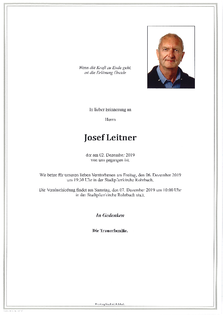 Josef Leitner