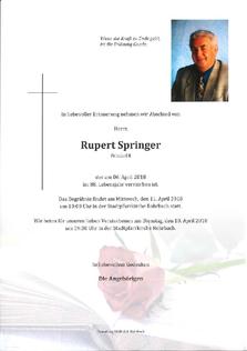 Rupert Springer