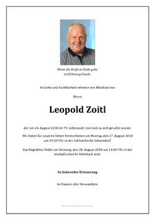 Leopold Zoitl