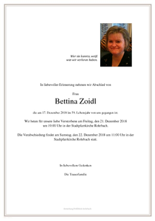 Bettina Zoidl