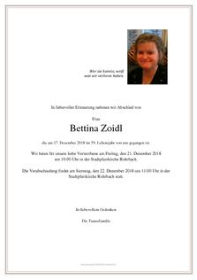 Bettina Zoidl