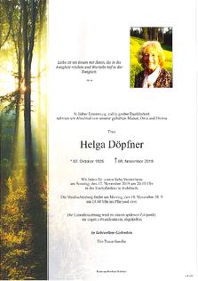 Helga Döpfner