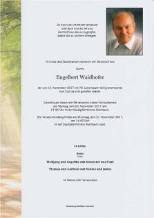 Engelbert Waidhofer