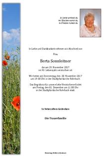 Berta Sonnleitner