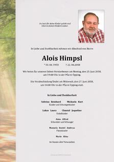 Alois Himpsl