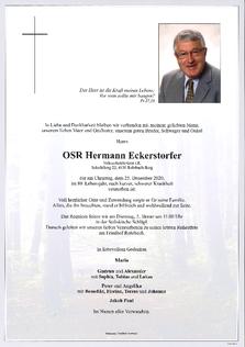OSR Hermann Eckerstorfer