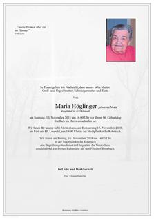 Maria Höglinger