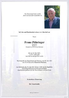 Franz Pühringer