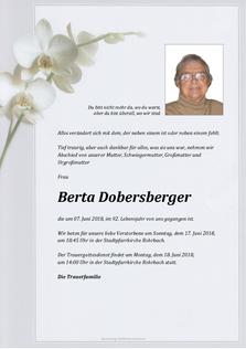 Berta Dobersberger