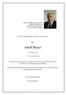 Adolf Bauer