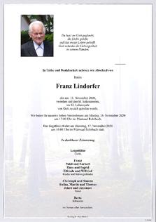 Franz Lindorfer