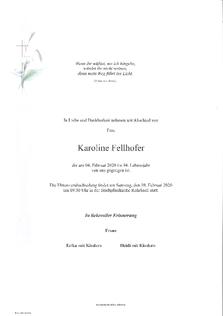Karoline Fellhofer