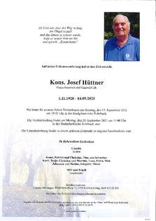Josef Hüttner