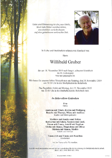 Willibald Gruber