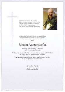 Johann Atzgerstorfer