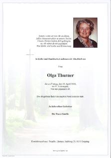 Olga Thurner