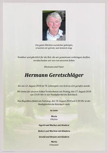 Hermann Geretschläger