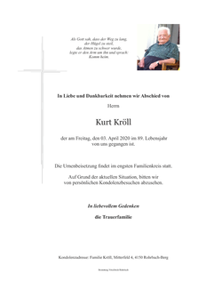 Kurt Kröll