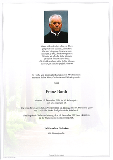Franz Barth