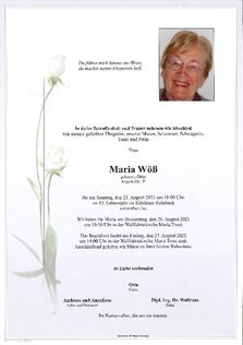 Maria Wöß