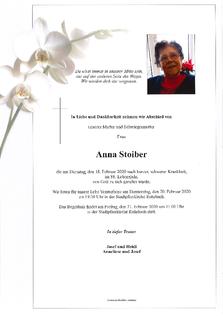 Anna Stoiber