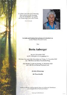 Berta Auberger