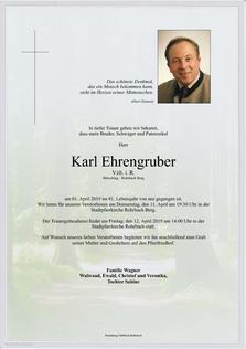 Karl Ehrengruber